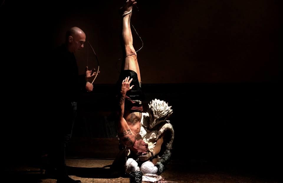 VestAndPage, Anam Cara – Dwelling Body, Venice International Performance Art Week, Palazzo Mora, Venice, 2018 © Mauro Sambo
