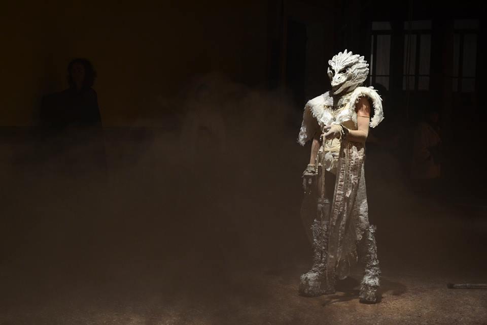 VestAndPage, Anam Cara – Dwelling Body, Venice International Performance Art Week, Palazzo Mora, Venice, 2018 © Yansu Wang | We Exhibit
