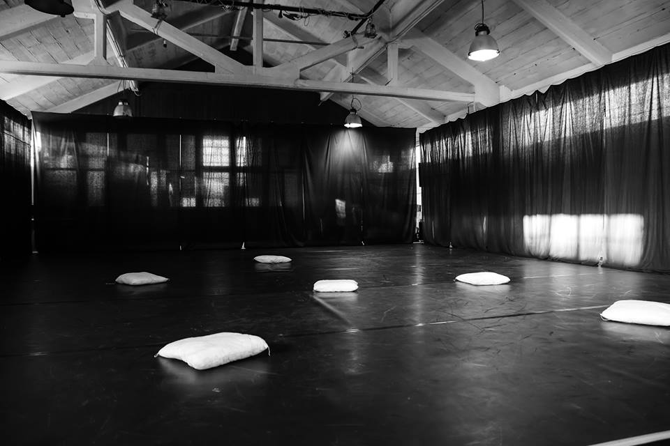 The ART WEEK | WORKSHOP SERIES campus on C32 performing art space, Forte Marghera, Mestre-Venice, Italy