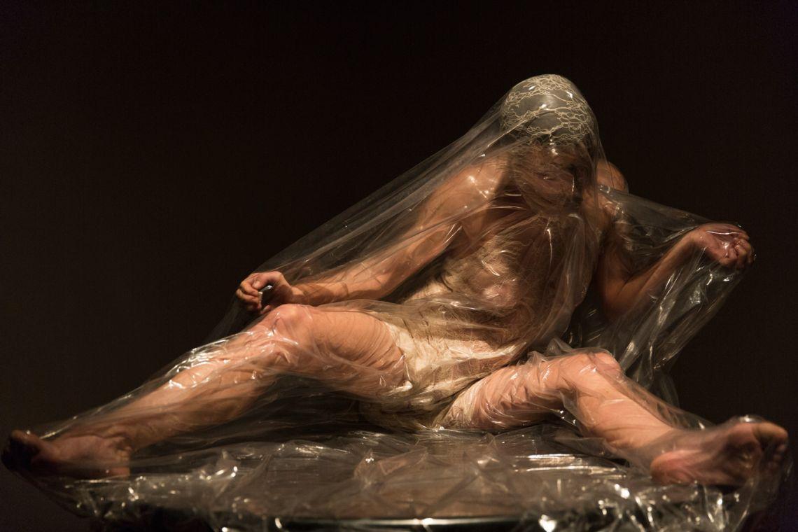 Andrigo & Aliprandi,vacuum.Venice International Performance Art Week (2014). Photograph by Monika Sobczak.