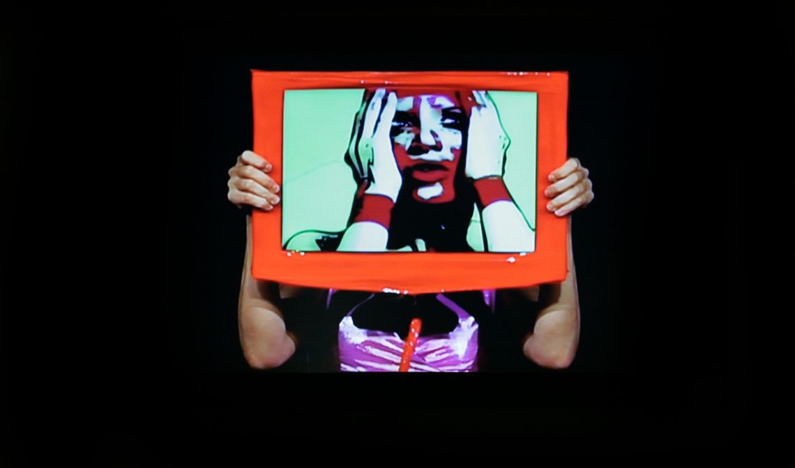 Francesca Fini, Cry Me, video on exhibit at the Venice International Performance Art Week 2012