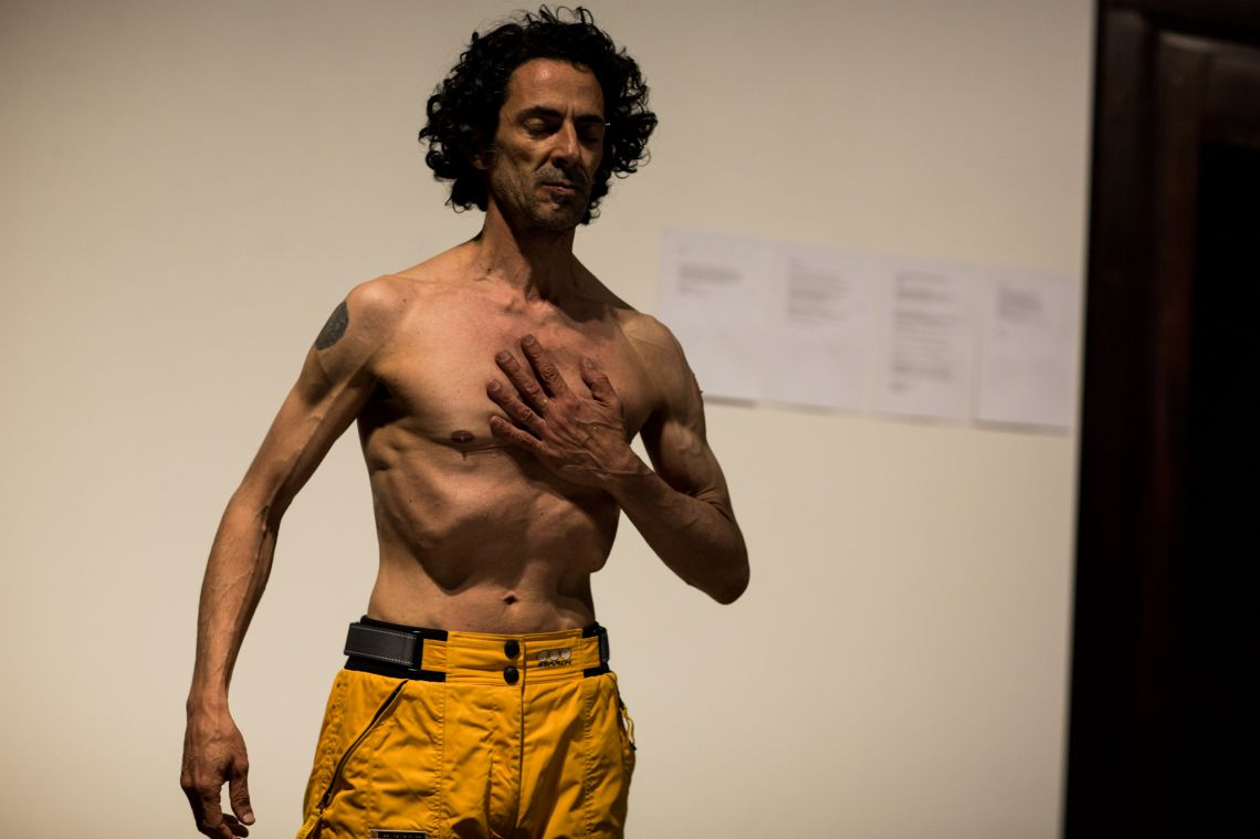 Prem Sarjo, Selected Performances and Personal Research (2012), exhibition, and Hybrid Body - Poetic Body. A Performance Trilogy. (2012), live performances at the VENICE INTERNATIONAL PERFORMANCE ART WEEK 2012. Images © Monika Sobzcak.