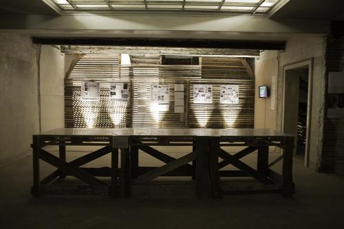 El Siluetazo. Exhibition view - Detail. Venice International Performance Art Week 2014. Photograph by Samanta Cinquini.
