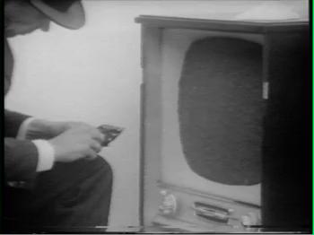Joseph Beuys, Filz-TV. Video still,part of the television film Identification by Gerry Schum (1970). Courtesy ofLa Biennale di Venezia - ASAC.