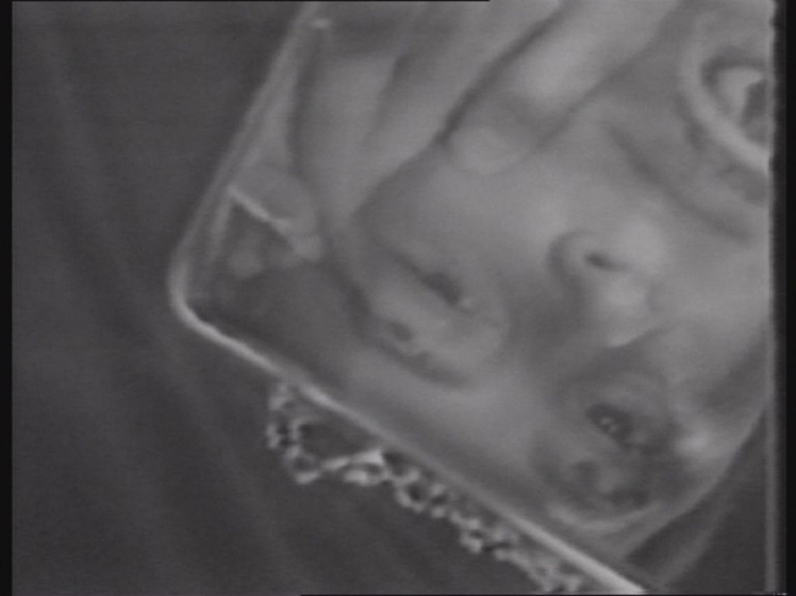 Gina Pane, Psyche. Still from the video (1974). Courtesy of LIMA Amsterdam.