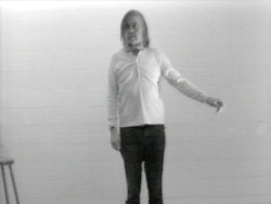 John Baldessari, I Am Making Art (1971). Still from the video. Courtesy Electronic Arts Intermix.