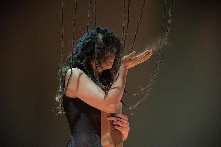 Christina Georgiou, Actions of Love, Venice International Performance Art Week 2016 © Veronika Badolin
