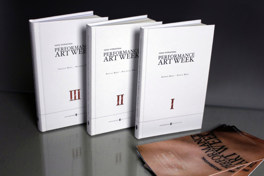 VestAndPage press - Special Edition - Venice International Performance Art Week Exhibition Catalogue